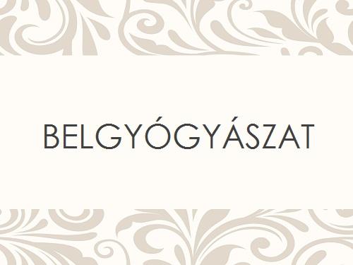 BELGYÓGYÁSZAT
