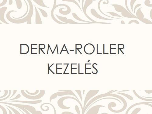 DERMA-ROLLER KEZELÉS