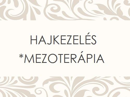 HAJKEZELÉS MEZOTERÁPIA