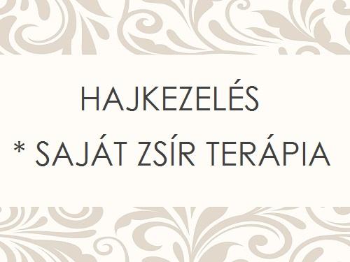 HAJKEZELÉS - SAJÁT ZSÍR TERÁPIA