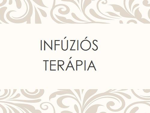 INFÚZIÓS TERÁPIA