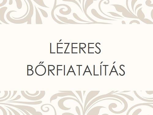 LÉZERES BŐRFIATALÍTÁS