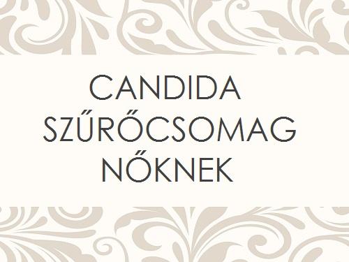 CANDIDA SZŰRŐCSOMAG - NŐKNEK