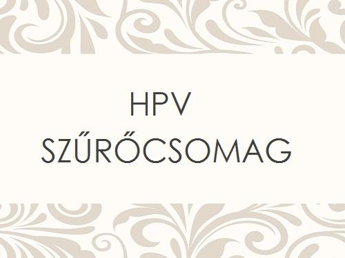 HPV SZŰRŐCSOMAG