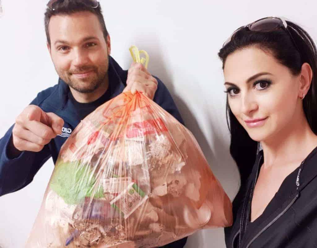 Szelektív hulladélgyűjtés - Műanyagmentes július